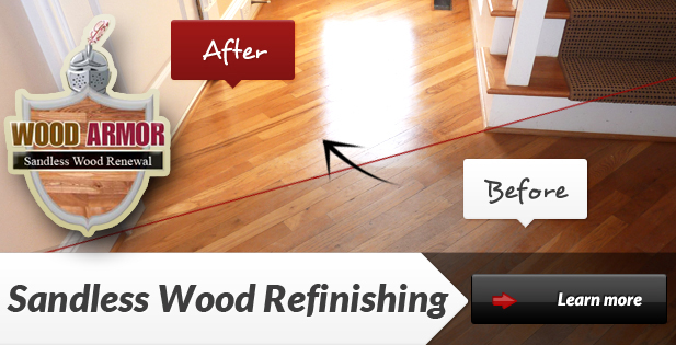 Sandless Wood Refinishing